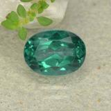 thumb image of 1.9ct Oval Facet Green Mystic Topaz (ID: 483316)