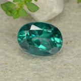 thumb image of 1.6ct Oval Facet Green Mystic Topaz (ID: 483319)