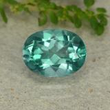 thumb image of 1.6ct Oval Facet Green Mystic Topaz (ID: 483320)