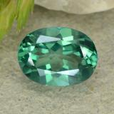 thumb image of 1.6ct Oval Facet Green Mystic Topaz (ID: 483336)