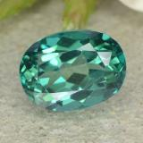 thumb image of 1.8ct Oval Facet Blue-Green Mystic Topaz (ID: 483369)