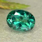 thumb image of 1.6ct Oval Facet Green Mystic Topaz (ID: 483377)