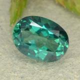 thumb image of 1.6ct Oval Facet Green Mystic Topaz (ID: 483378)
