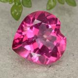 thumb image of 4.9ct Heart Facet Purplish Pink Mystic Topaz (ID: 484965)