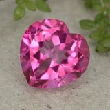 thumb image of 5.7ct Heart Facet Purplish Pink Mystic Topaz (ID: 484968)
