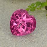 thumb image of 4.1ct Heart Facet Purplish Pink Mystic Topaz (ID: 485070)