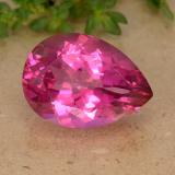 thumb image of 7.2ct Pear Facet Medium-Dark Pink Mystic Topaz (ID: 488428)