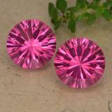 thumb image of 8.6ct Round Concave Cut Purplish Pink Mystic Topaz (ID: 489760)