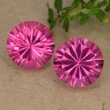thumb image of 4.3ct Round Concave Cut Hot Pink Mystic Topaz (ID: 489762)
