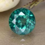 thumb image of 1.6ct Round Facet Blue-Green Mystic Topaz (ID: 489926)
