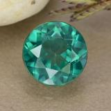 thumb image of 1.6ct Round Facet Blue-Green Mystic Topaz (ID: 489936)