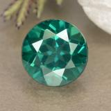 thumb image of 1.6ct Round Facet Blue-Green Mystic Topaz (ID: 489968)