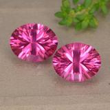 thumb image of 6.3ct Oval Concave Cut Purplish Pink Mystic Topaz (ID: 490094)
