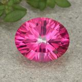 thumb image of 3.3ct Oval Concave Cut Purplish Pink Mystic Topaz (ID: 492818)