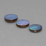 thumb image of 3.1ct Oval Cabochon Multicolor Opal Doublet (ID: 446801)