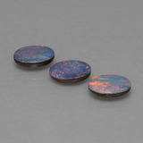 thumb image of 2.6ct Oval Cabochon Multicolor Opal Doublet (ID: 446805)