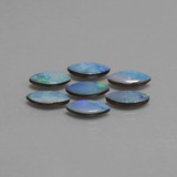 thumb image of 4.9ct Marquise Cabochon Multicolor Opal Doublet (ID: 446816)