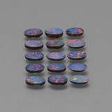 thumb image of 2.8ct Oval Cabochon Multicolor Opal Doublet (ID: 446932)