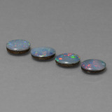 thumb image of 2.2ct Oval Cabochon Multicolor Opal Doublet (ID: 449261)