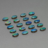 thumb image of 4.3ct Oval Cabochon Multicolor Opal Doublet (ID: 449350)