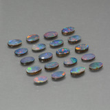 thumb image of 4ct Oval Cabochon Multicolor Opal Doublet (ID: 449358)