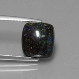 thumb image of 4.5ct Cushion Cabochon Multicolor Opal in Matrix (ID: 442004)
