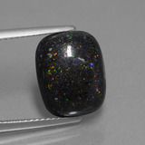 thumb image of 4.3ct Cushion Cabochon Multicolor Opal in Matrix (ID: 442122)
