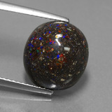 thumb image of 5.7ct Oval Cabochon Multicolor Opal in Matrix (ID: 442186)