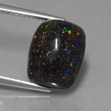 thumb image of 4.1ct Cushion Cabochon Multicolor Opal in Matrix (ID: 442227)