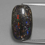 thumb image of 3.7ct Cushion Cabochon Multicolor Opal in Matrix (ID: 442230)