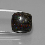 thumb image of 4.9ct Cushion Cabochon Multicolor Opal in Matrix (ID: 442385)