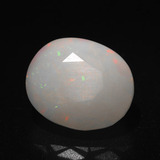 thumb image of 3.1ct Oval Facet Multicolor Opal (ID: 271970)