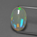 thumb image of 2.5ct Oval Cabochon Multicolor Opal (ID: 302291)