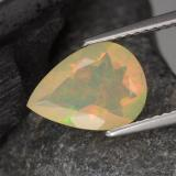 thumb image of 1.4ct Pear Facet Multicolor Opal (ID: 308092)