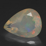 thumb image of 2.2ct Pear Facet Multicolor Opal (ID: 308097)