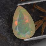 thumb image of 1.2ct Pear Facet Yellow Opal (ID: 308219)