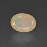thumb image of 0.8ct Oval Facet Multicolor Opal (ID: 309482)