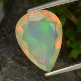 thumb image of 1.4ct Pear Facet Multicolor Opal (ID: 311127)
