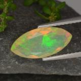 thumb image of 1.4ct Marquise Facet Yellow Opal (ID: 314688)