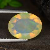 thumb image of 1.6ct Oval Facet Multicolor Opal (ID: 314781)
