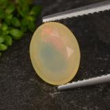 thumb image of 1.3ct Oval Facet Multicolor Opal (ID: 316431)