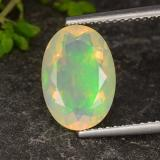 thumb image of 1.9ct Oval Facet Multicolor Opal (ID: 316520)