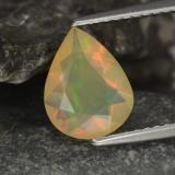 thumb image of 0.9ct Pear Facet Multicolor Opal (ID: 343928)