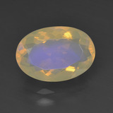 thumb image of 1.8ct Oval Facet Multicolor Opal (ID: 343942)