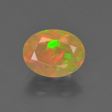 thumb image of 1ct Oval Facet Multicolor Opal (ID: 364420)