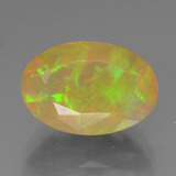 thumb image of 1.8ct Oval Facet Multicolor Opal (ID: 385904)