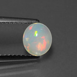 thumb image of 0.6ct Oval Cabochon Multicolor Opal (ID: 432049)