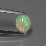 thumb image of 0.5ct Oval Cabochon Multicolor Opal (ID: 432237)