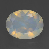 thumb image of 1.2ct Oval Facet Multicolor Opal (ID: 461646)