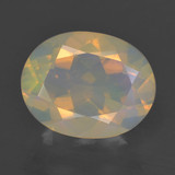 thumb image of 1.5ct Oval Facet Multicolor Opal (ID: 461737)